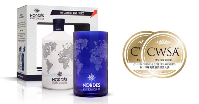 ¡TOMA CHOLLO! Ginebra Nordés Atlantic Galician Gin 70cl + vaso coleccionable solo 21,65 euros.