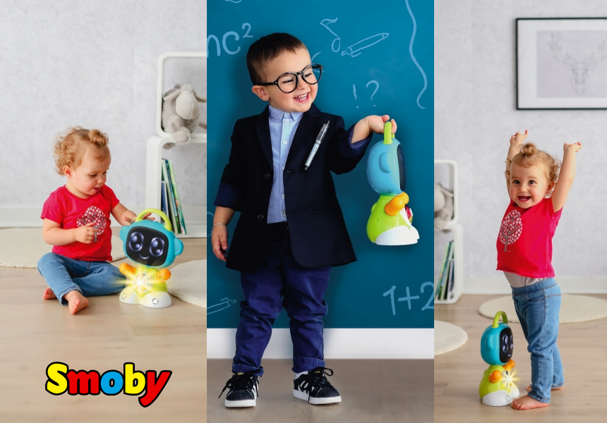 Juguete Smoby Smart Robot TIC educativo barato, ofertas en juguetes, large