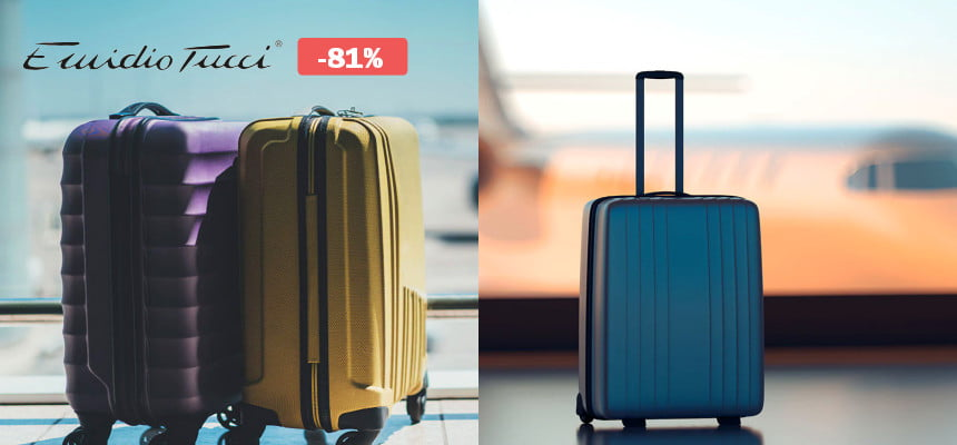 Maletas y bolsas de viaje Emidio Tucci baratas, ofertas en maletas, large