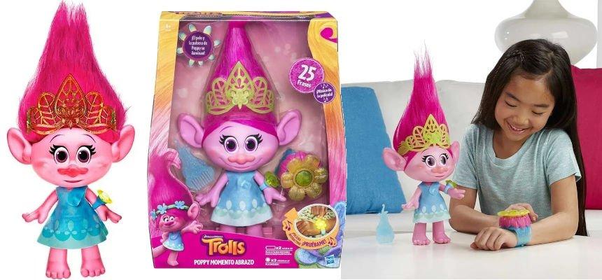 Muñeca Trolls Poppy barata, juguetes baratos, ofertas para niños