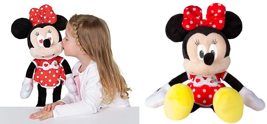 Peluche interactivo Minnie Emociones barato, juguetes baratos, ofertas para niños