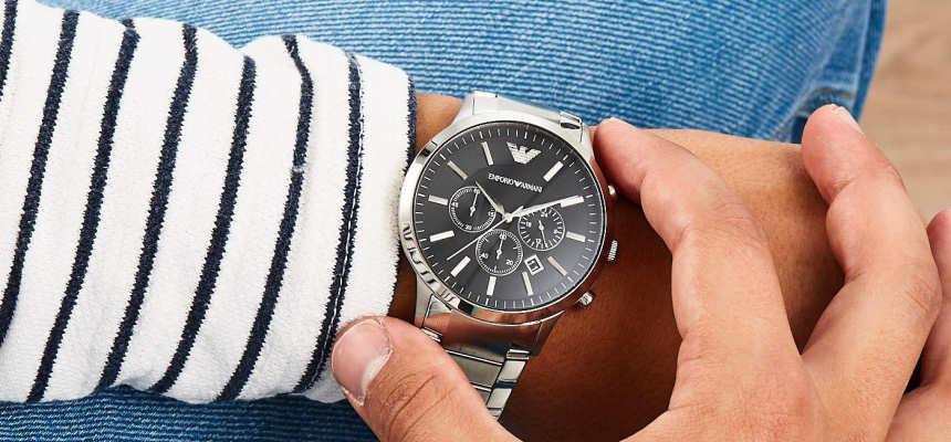 Reloj cronógrafo Emporio Armani AR2460 Renato barato, ofertas en relojes, large