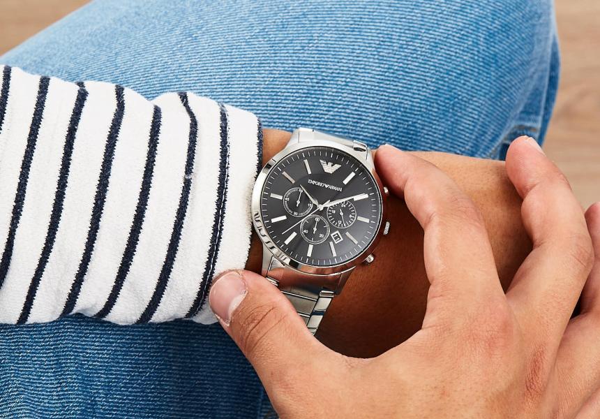 Reloj cronógrafo Emporio Armani AR2460 Renato barato, ofertas en relojes