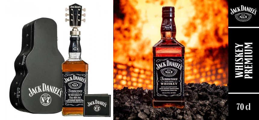 Whisky Jack Daniels Old No. 7 Guitar Case Ed. Especial barato, ofertas en whisky