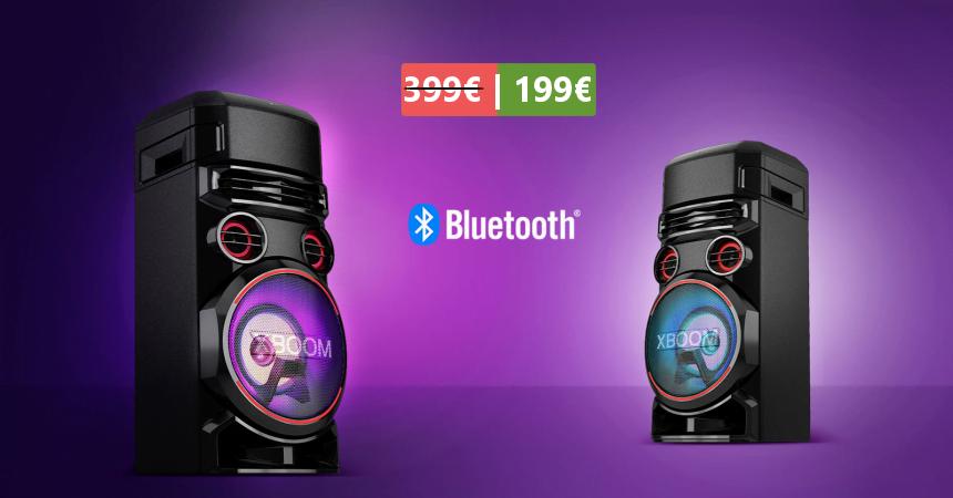 Altavoz Bluetooth LG XBOOM RN7 barato, ofertas en altavoces Bluetooth