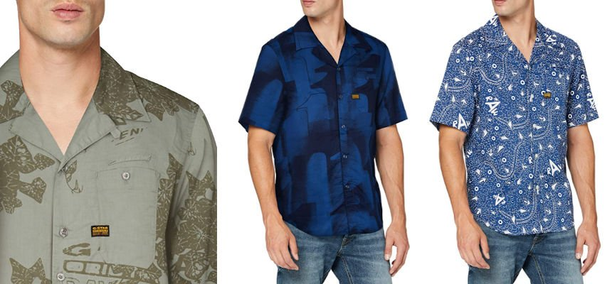 Camisa G-Star Raw Bristum barata, ofertas en ropa de marca