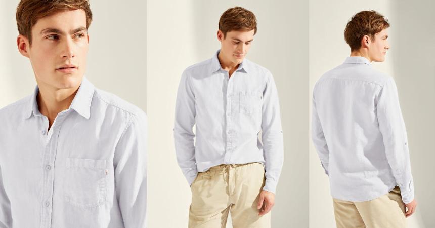 Camisa HKT by Hackett Gmtdye barata, ofertas en ropa de marca
