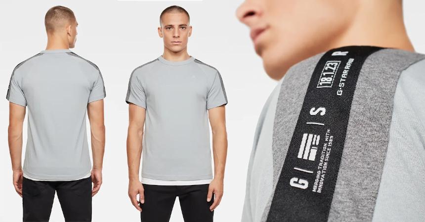 Camiseta G-Star Raw Sport Tape barata, ofertas en ropa de marca