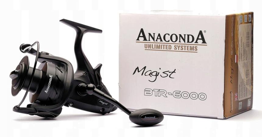 Carrete de pesca Saeger Anaconda Magist BTR 6000 barato, ofertas en carretes de pesca