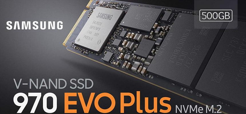 Disco SSD Samsung MZ-V7S500BW 970 EVO Plus 500GB barato, ofertas en discos SSD