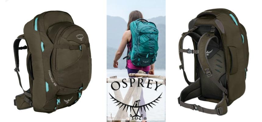 Mochila Osprey Fairview 55 barata, ofertas en mochilas