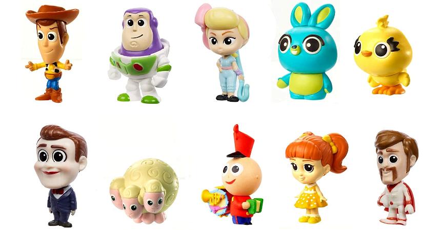 Pack de 10 figuras Toy Story 4 baratas, ofertas en juguetes