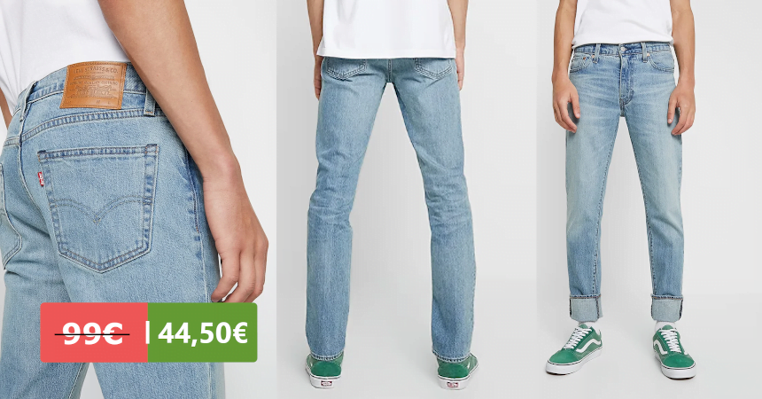 Pantalones vaqueros Levi's 511 baratos, ofertas en ropa de marca