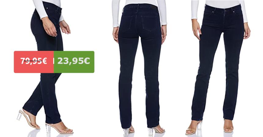 Pantalones vaqueros Wrangler Straight baratos, ofertas en ropa de marca