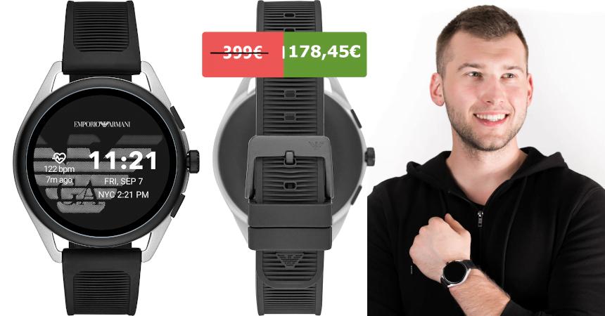 Smartwatch Emporio Armani Connected barato, ofertas en relojes RRSS