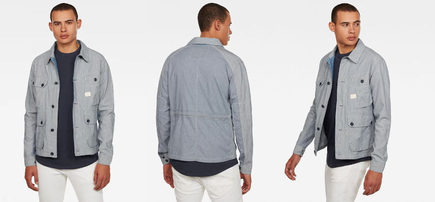 Sobrecamisa G-Star Raw Field PM barata, ofertas en ropa de marca