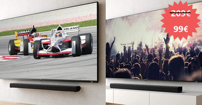 ¡TOMA CHOLLO! Barra de sonido TCL TS8011 con Fire TV Edition solo 99 euros. 52% de descuento.