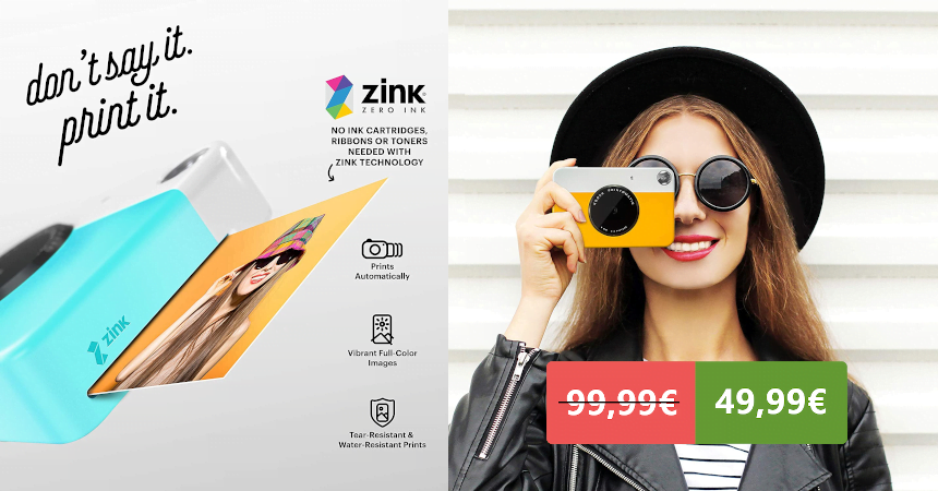 Cámara de fotos instantánea Kodak Printomatic barata, ofertas en cámaras de fotos