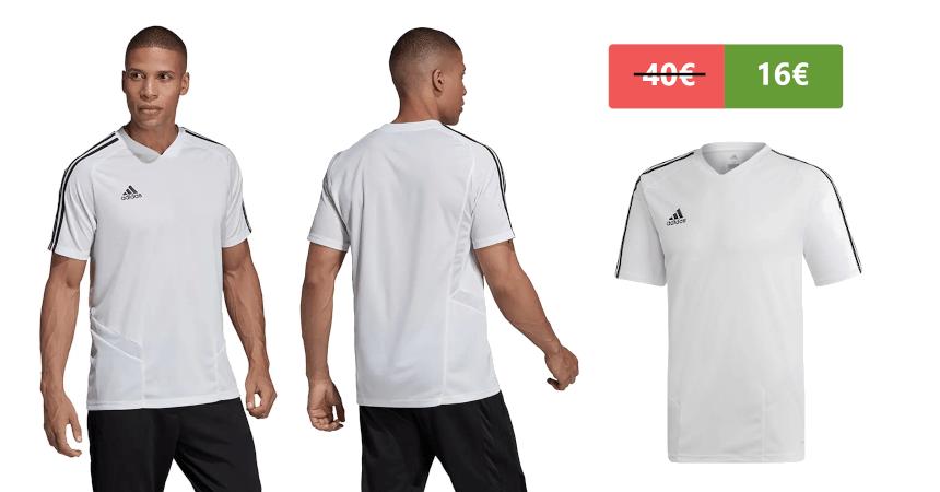 Camiseta Adidas Tiro 19 barata, ofertas en ropa de marca