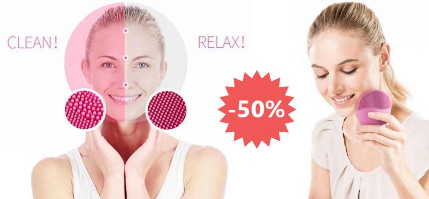Cepillo facial de limpieza Beurer FC 49 barato, ofertas en cepillos faciales de limpieza