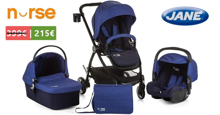 Cochecito bebé Nurse Trio Folk barato, oferas en cochecitos bebé