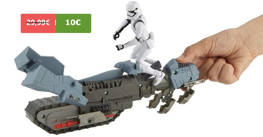 Figura Star Wars con vehículo Treadspeeders barata, ofertas en juguetes