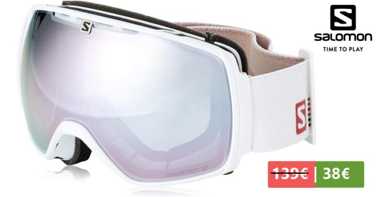 ¡TOMA CHOLLO! Gafas de esquí Salomon XT One solo 38,73 euros. 72% de descuento.
