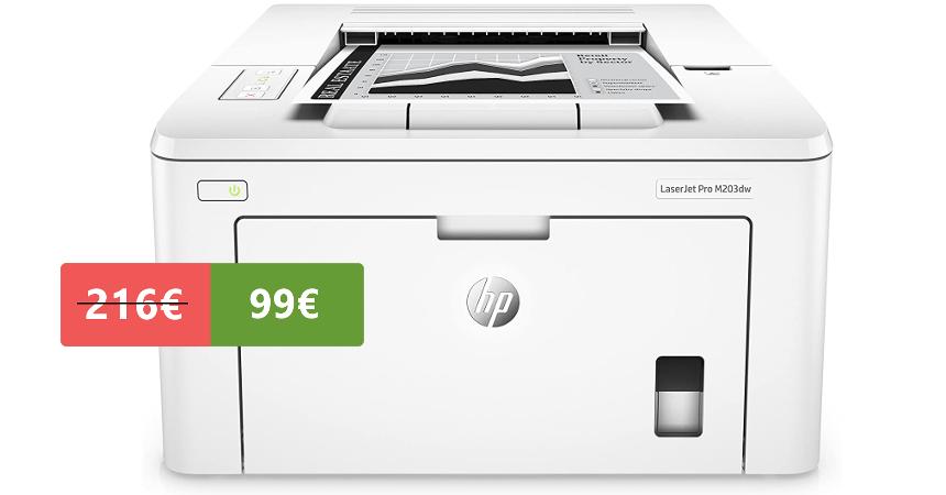 Impresora láser monocromo HP LaserJet Pro M203dw barata, ofertas en impresoras