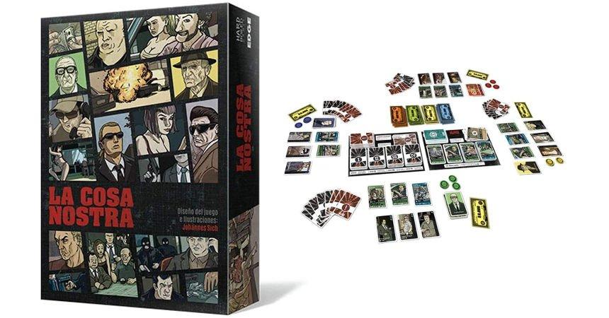 Juego de mesa La Cosa Nostra barato, ofertas en juegos de mesa
