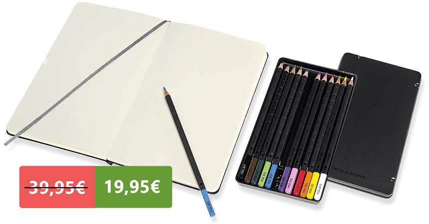 Kit de dibujo Moleskine barato, ofertas en material escolar
