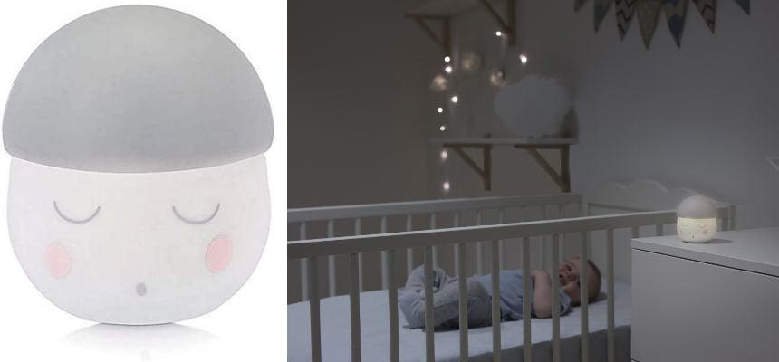 Lámpara de noche portátil Babymoov Squeezy barata, ofertas para niños