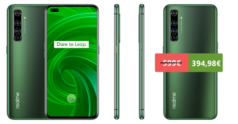 ¡TOMA CHOLLO! Móvil Realme X50 Pro 5G 8G/128GB solo 399 euros. Ahorras 200 euros.