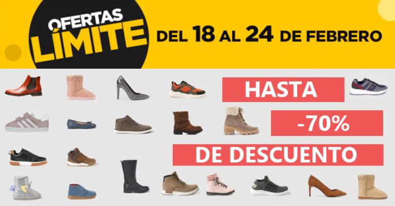 ¡TOMA CHOLLO! Cientos de modelos de calzado rebajados hasta el 70% en las Ofertas Límite 48 Horas de El Corte Inglés.