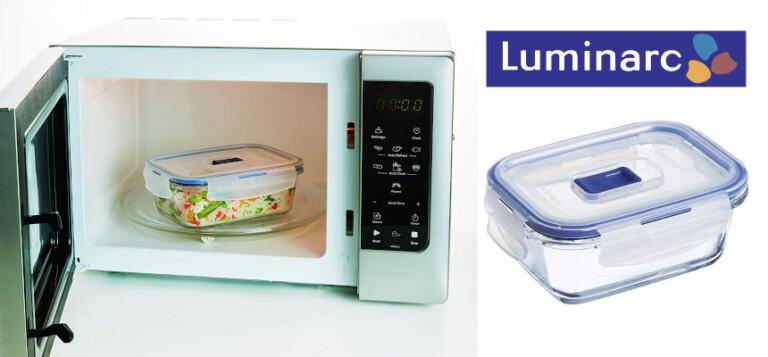 ¡TOMA CHOLLO! Recipiente hermético rectangular Luminarc Pure Box solo 8,99 euros. 43% de descuento.