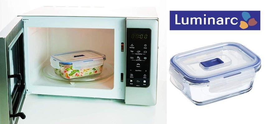 Recipiente hermético rectangular Luminarc Pure Box barato, ofertas para la casa