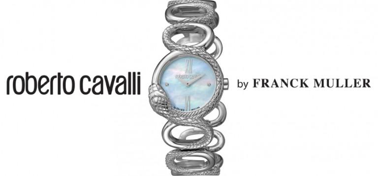 ¡TOMA CHOLLO! Reloj Roberto Cavalli by Franck Muller RV2L016M0016 solo 63,13 euros. 90% de descuento. ¡Últimas unidades!
