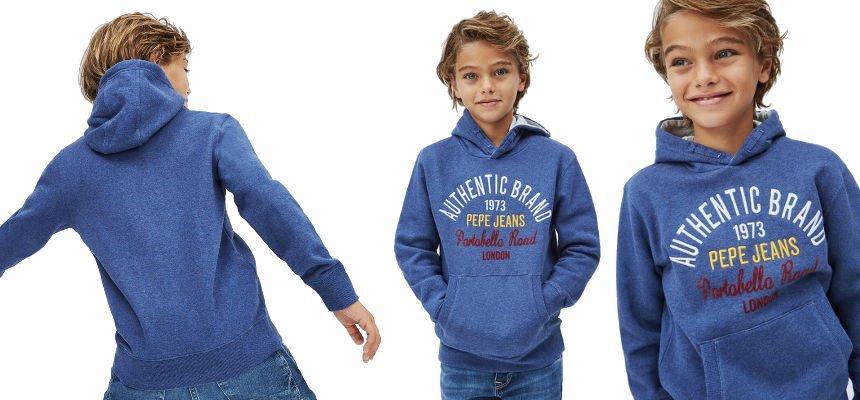 Sudadera Pepe Jeans Leon barata, ofertas en ropa de marca