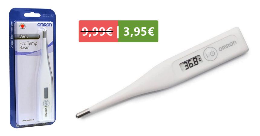 Termómetro digital Omron Eco Temp Basic MC-246-E barato, ofertas en termómetros digitales