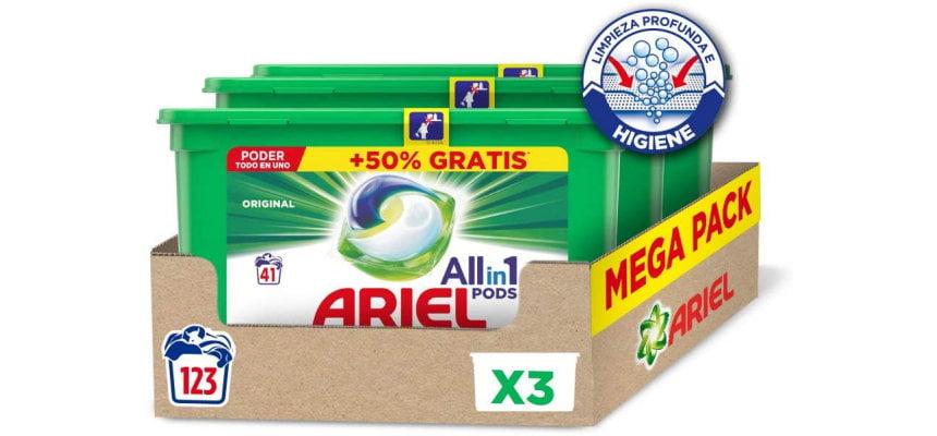 Detergente lavadora Ariel Pods Allin1 Original barato, ofertas en Ariel Pods