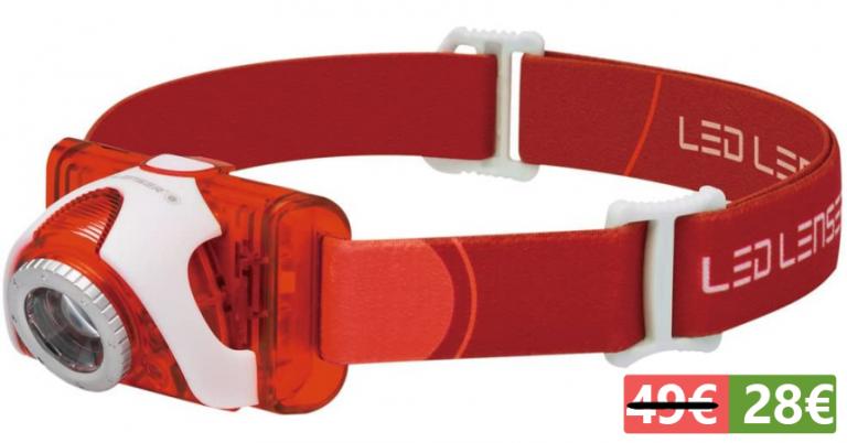 ¡TOMA CHOLLO! Linterna frontal LED Lenser SEO 5 (6106) solo 28,61 euros. 43% de descuento.