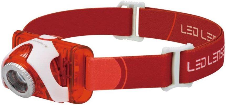 Linterna frontal LED Lenser SEO5 barata