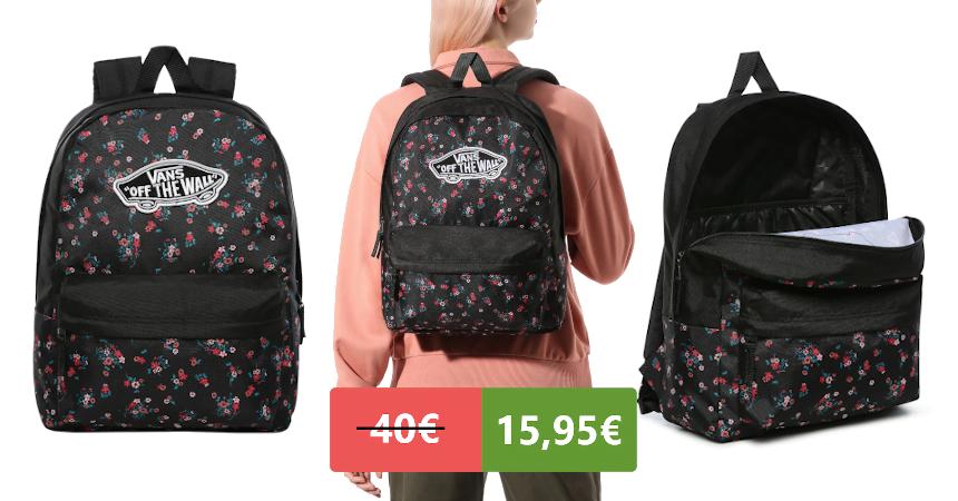 Mochila Vans Realm barata, ofertas en complementos