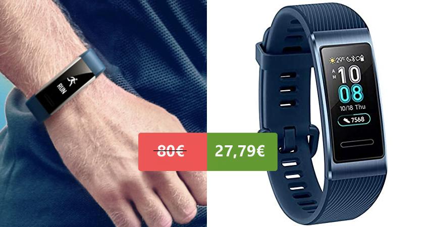 Smartband Huawei Band 3 Pro con GPS barata, ofertas en pulseras de actividad