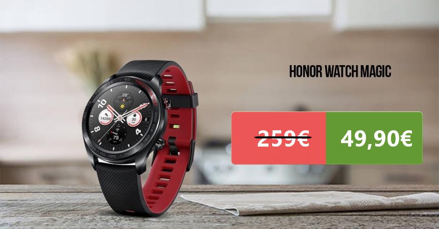 Smartwatch Honor Magic Watch Black barato, ofertas en smartwatch