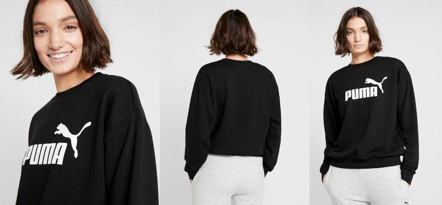 Sudadera Puma Logo Crew para mujer barata, ofertas en ropa de marca