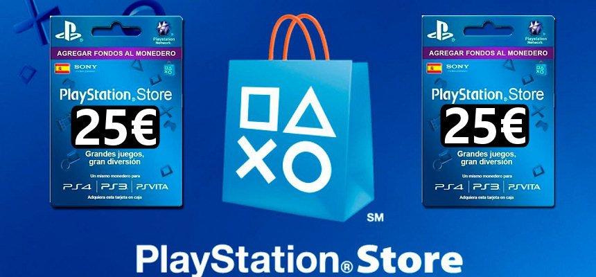 Tarjeta PlayStation 25 euros barata, ofertas en tarjetas PlayStation PS