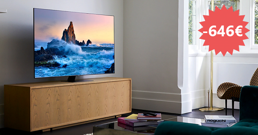 Televisor QLED Samsung QE65Q80T barato, ofertas en televisores Smart TV