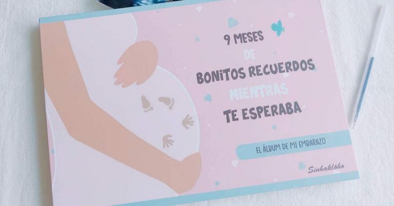 ¡TOMA CUPÓN! Álbum del embarazo Sinhaklóho solo 17,59 euros.