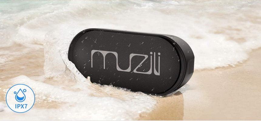 Altavoz Bluetooth Muzili IPX7 barato, ofertas en altavoces inalámbricos