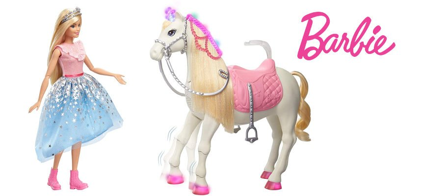Barbie Princess Adventure y Su Caballo barata, ofertas en juguetes